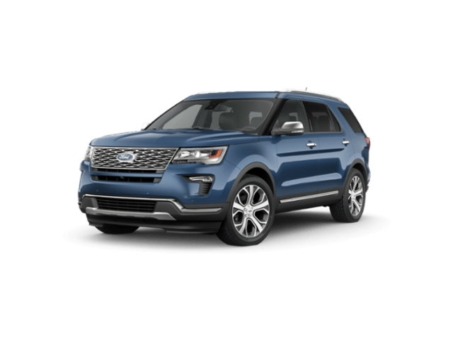 New 2019 Ford Explorer Platinum SUV FAE190853 in Getzville, NY